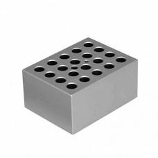 BLOCO PARA 20 MICROTUBOS DE 1,5 ML